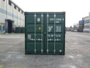 40ft high cube Tunnel Storage Container for sale UK rear