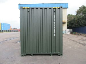 40ft New High Cube Containers Birmingham UK Green