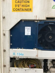 40ft Used Refrigerated Container for sale west midlands uk