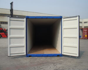 new 40ft shipping container for sale UK opening