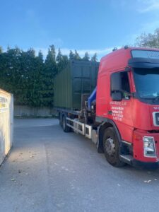 shipping container with Delivery across the UK
