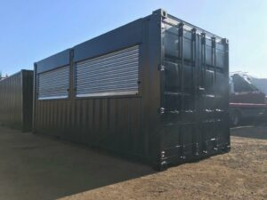 roller shutter doors container modification