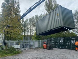 Container Delivery across the UK