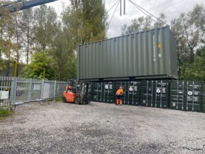 Delivery of Shipping Containers in the UK