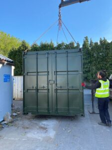 Professional Container Delivery UK