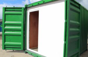 cut down shipping container modifications uk