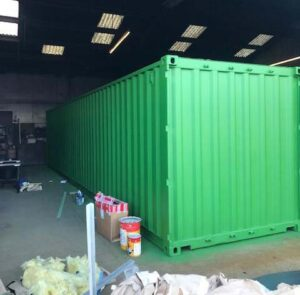new shipping container paint options