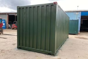 painting new shipping container uk