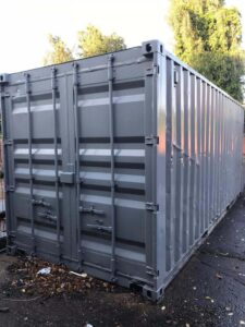 used storage container painted and refurbed uk